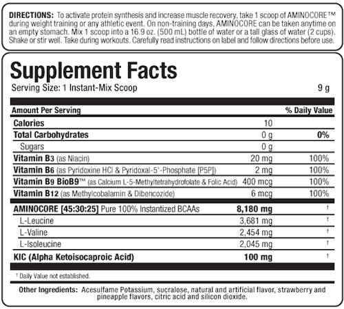 aminocore-supplement-facts